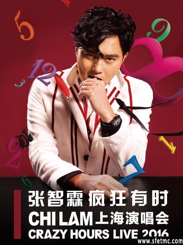 《张智霖疯狂有时演唱会上海站》